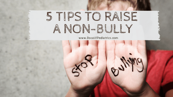 5 Tips to Raise A Non-Bully